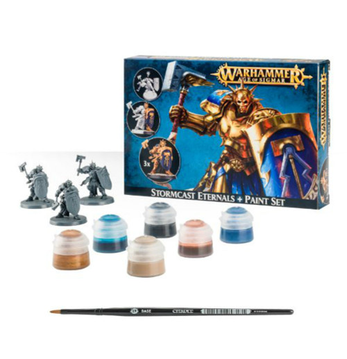 Stormcast Eternals & Paint Set