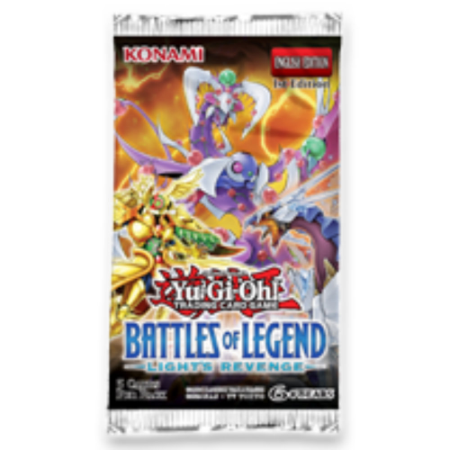 Yu-Gi-Oh! Battles of Legend Light's Revenge - Booster Pack