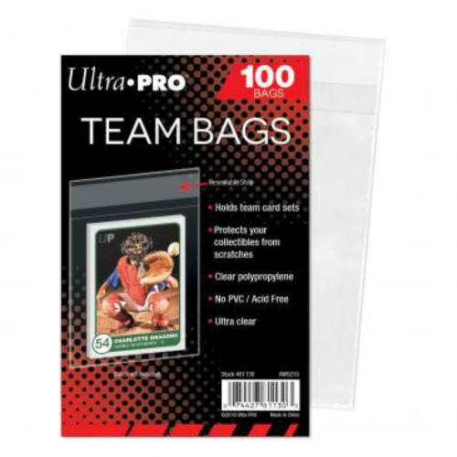 Ultra Pro: Team Bags - Resealable Sleeves