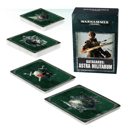 Warhammer 40K: Astra Militarum - Datacards