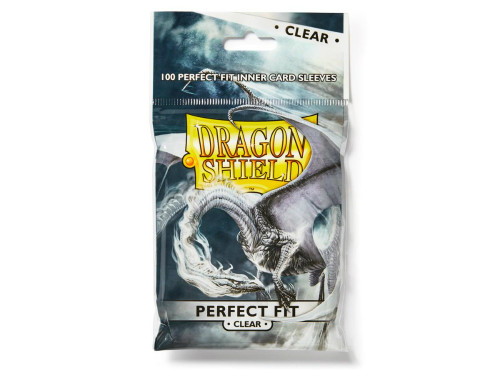 Dragon Shield Card Sleeves: Perfect Fit - Clear Toploaders (100)