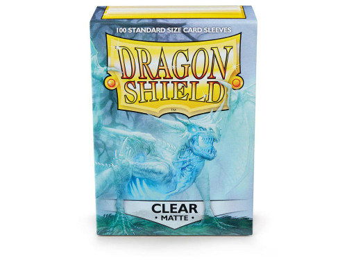 Dragon Shield Card Sleeves: Matte Clear (100)