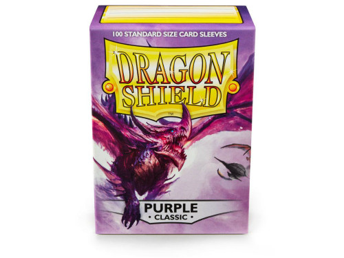 Dragon Shield Card Sleeves: Purple (100)