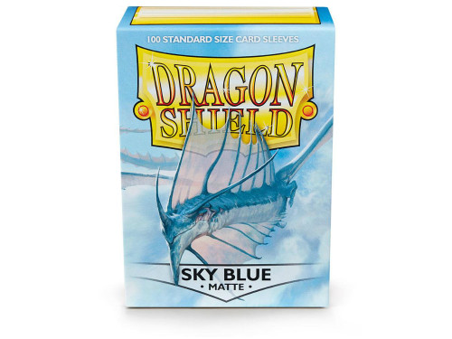 Dragon Shield Card Sleeves: Matte Sky Blue (100)