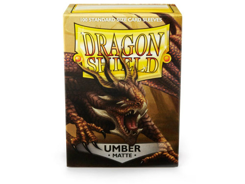Dragon Shield Card Sleeves: Umber (100)