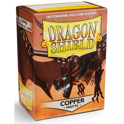 Dragon Shield Card Sleeves: Matte Copper (100)