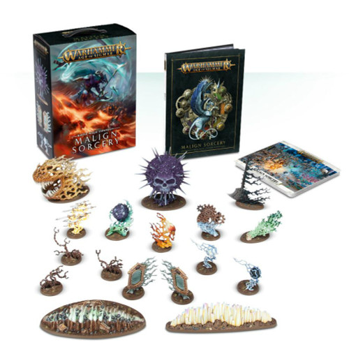 Warhammer Age of Sigmar: Malign Sorcery - Battle Magic Expansion