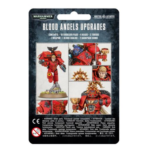 Warhammer 40K: Blood Angels - Upgrades