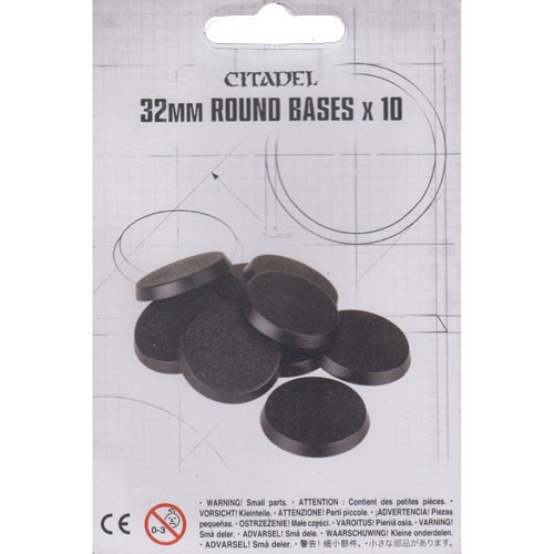 Citadel: 32mm Round Bases (10 count)