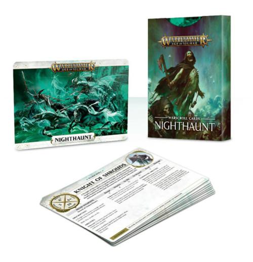 Warhammer: Nighthaunt - Warscroll Cards