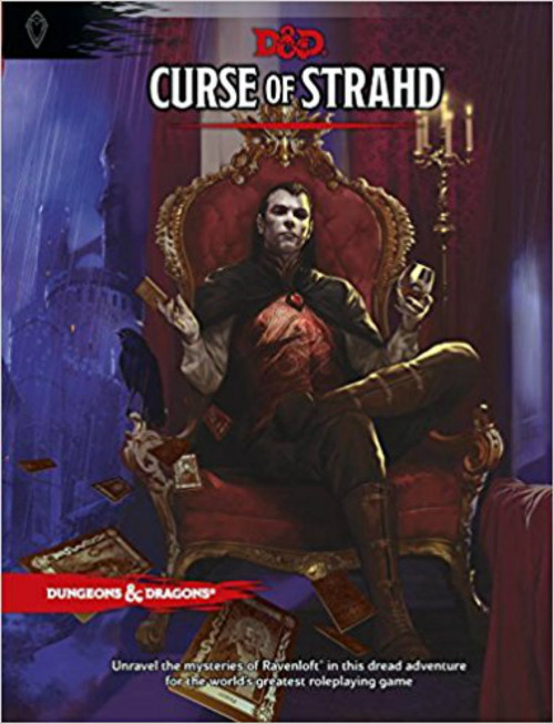 Dungeon & Dragons 5th Edition RPG: Curse of Strahd (Hardcover)