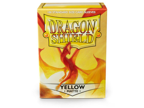 Dragon Shield Card Sleeves: Matte Yellow (100)