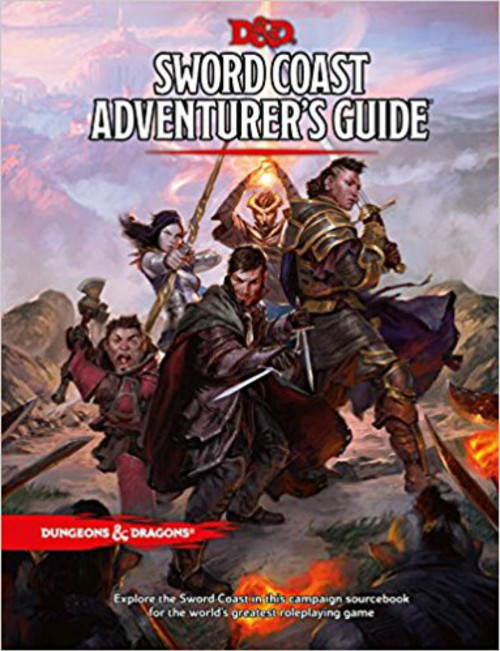 Dungeons & Dragons 5th Edition RPG: Sword Coast Adventurer's Guide (Hardcover)