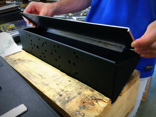 FEM-1 LockingLid in production