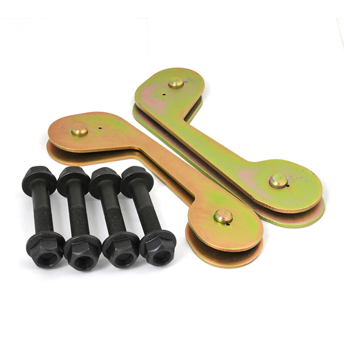 80 Series Caster Correction Plates- 4in.
