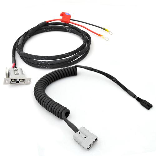 Anderson SB50 EdgeStar/Snomaster Fridge to Battery Complete Wiring Kit
