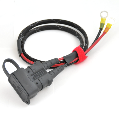 Anderson SB50 with Environmental Boot, Direct to Battery Cable