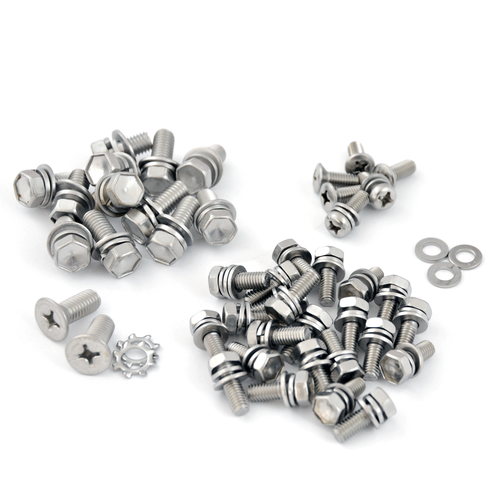 80 Series Stainless Steel Bolt Kit- Rear Hatch and Tailgate (SSBK-3)