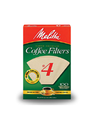 MELITTA Filter #4 Brown