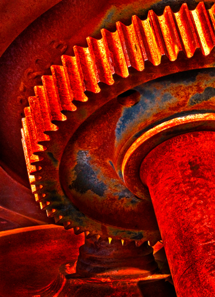 20004 Engine Of Life Wall Art 816226028700 Art Modern Enliven your walls with the molten mechanics of the Engine of Life Wall Art. Fiery reds and oranges light up the hand-finished canvas and lend an exciting warmth to any space. Lovely in pale rooms or as a bright touch in colorful spaces.  Wall Art by  Zuo Modern Kassa Mall Houston, Texas Best Design Furniture Store Serving Houston, The Woodlands, Katy, Sugar Land, Humble, Spring Branch and Conroe