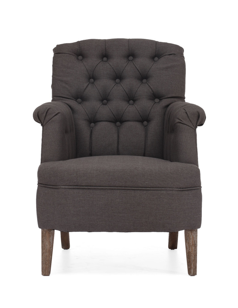 98081 Castro Armchair Charcoal Gray 816226021817 Seating Modern Charcoal Gray Armchair by  Zuo Modern Kassa Mall Houston, Texas Best Design Furniture Store Serving Houston, The Woodlands, Katy, Sugar Land, Humble, Spring Branch and Conroe