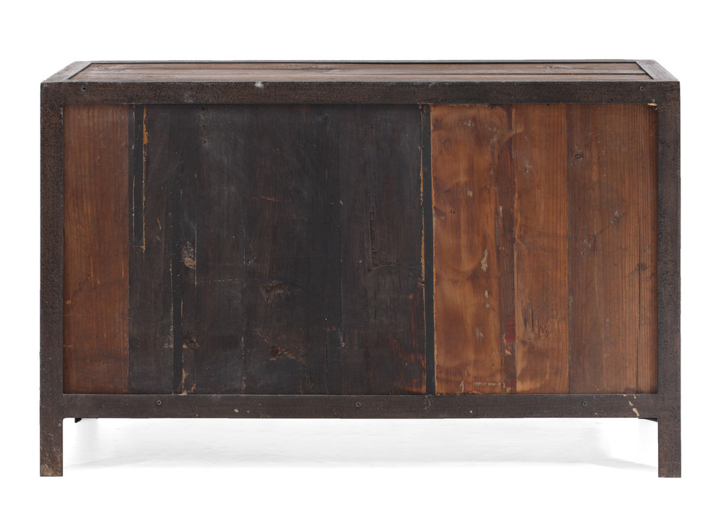 Fort Mason 6 Drawer Sideboard Distressed Natural