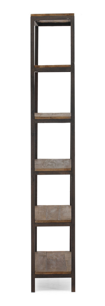 98143 Mission Bay Tall 6 Level Shelf Distressed Natural 816226022388 Storage Modern Distressed Natural Tall 6 Level Shelf by  Zuo Modern Kassa Mall Houston, Texas Best Design Furniture Store Serving Houston, The Woodlands, Katy, Sugar Land, Humble, Spring Branch and Conroe