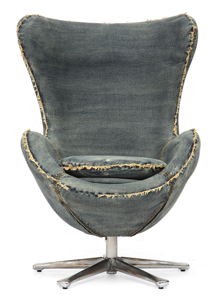 98216 Winchester Armchair Blue Denim 816226023224 Seating Modern Blue Denim Armchair by  Zuo Modern Kassa Mall Houston, Texas Best Design Furniture Store Serving Houston, The Woodlands, Katy, Sugar Land, Humble, Spring Branch and Conroe