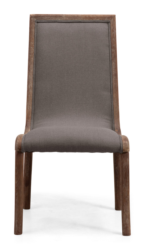 98355 Kearny Chair Charcoal Gray 816226027949 Seating Modern Charcoal Gray Chair by  Zuo Modern Kassa Mall Houston, Texas Best Design Furniture Store Serving Houston, The Woodlands, Katy, Sugar Land, Humble, Spring Branch and Conroe