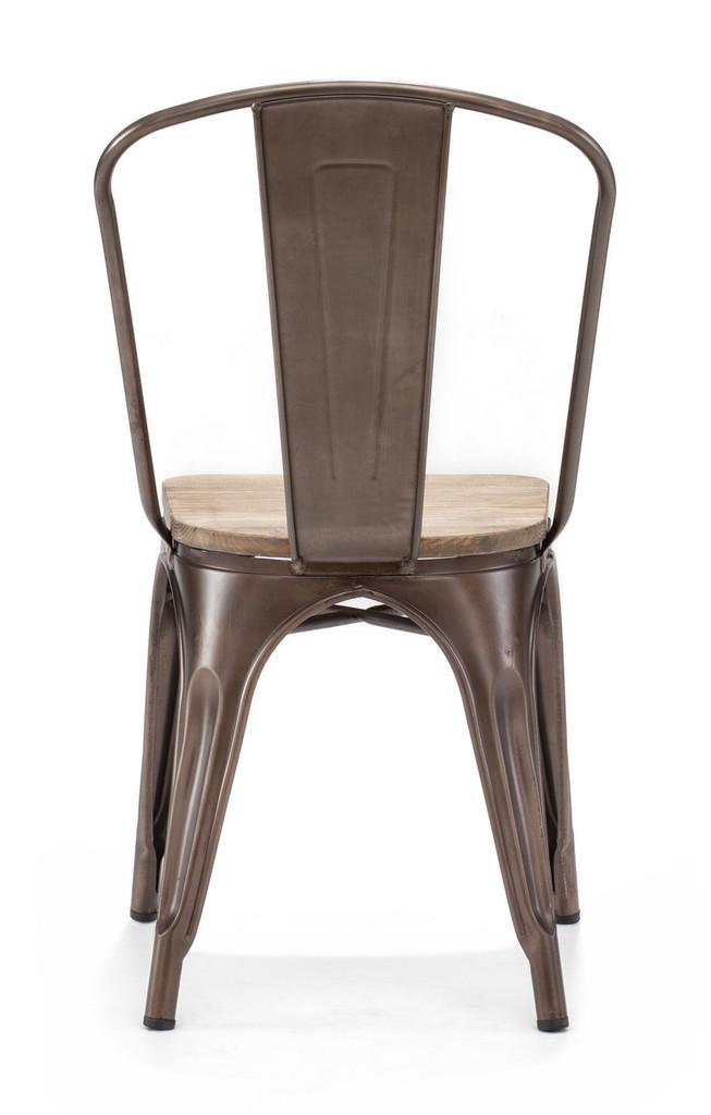 Elio Chair Rustic Wood