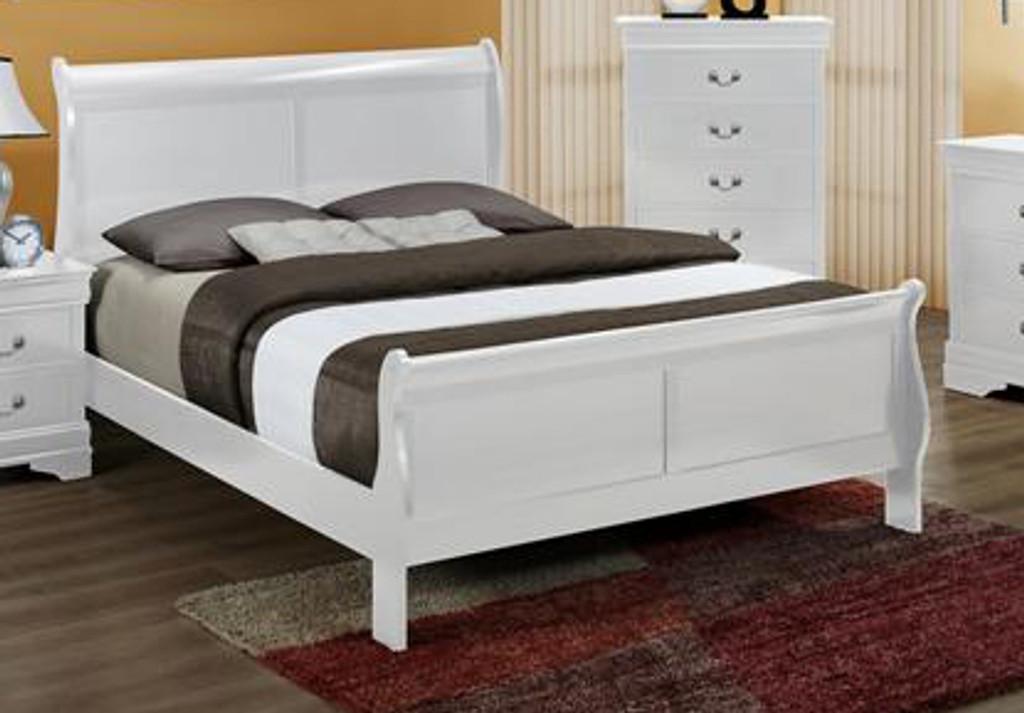 Luis Philip Queen Size Bed.