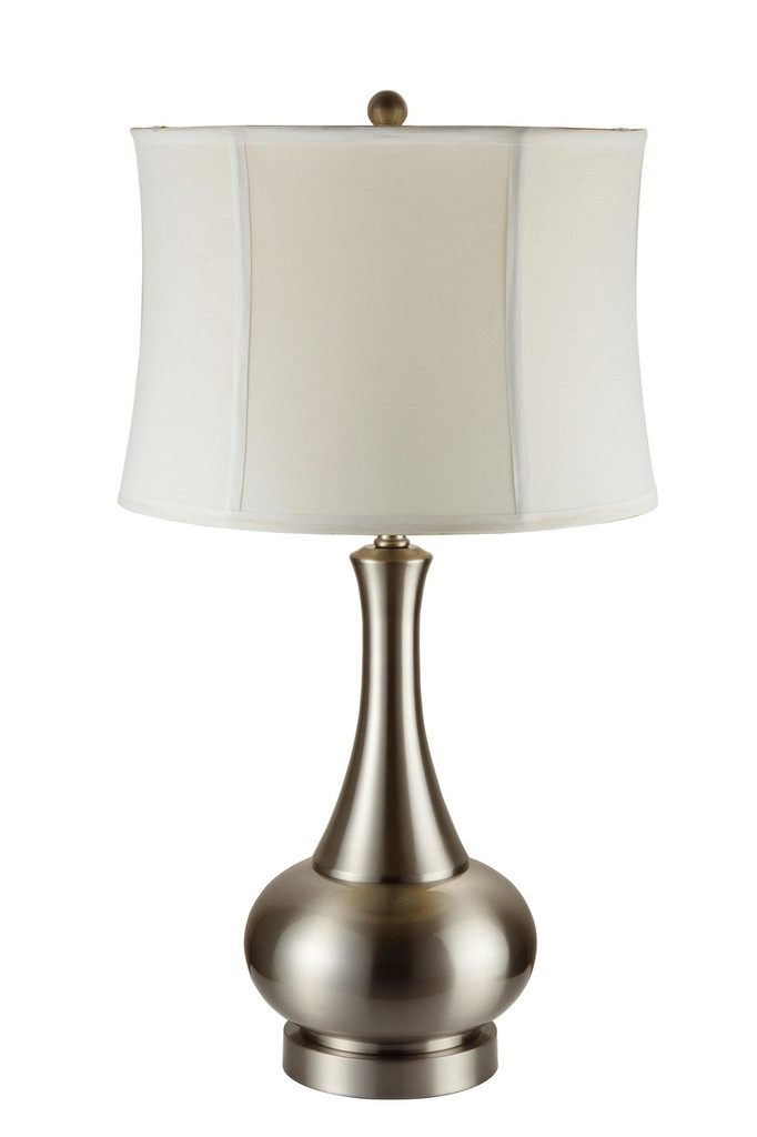 Chrome Table Lamp (SET OF 2) - 6123T-PEW