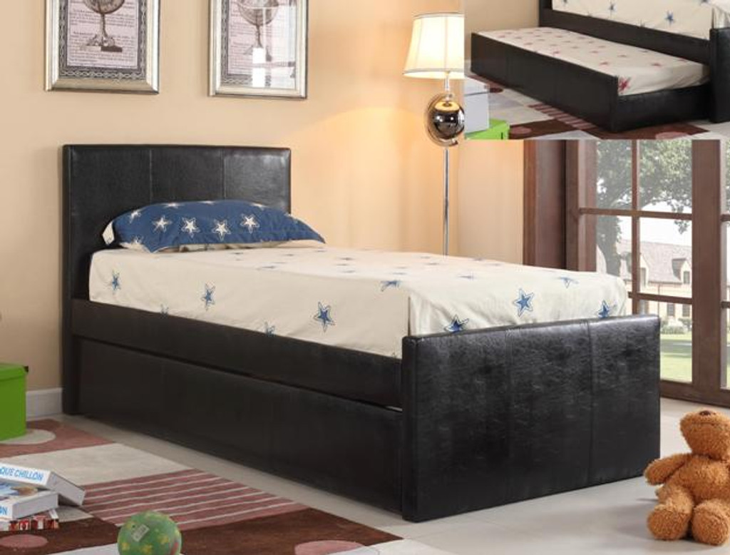LEO TRUNDLE TWIN BED