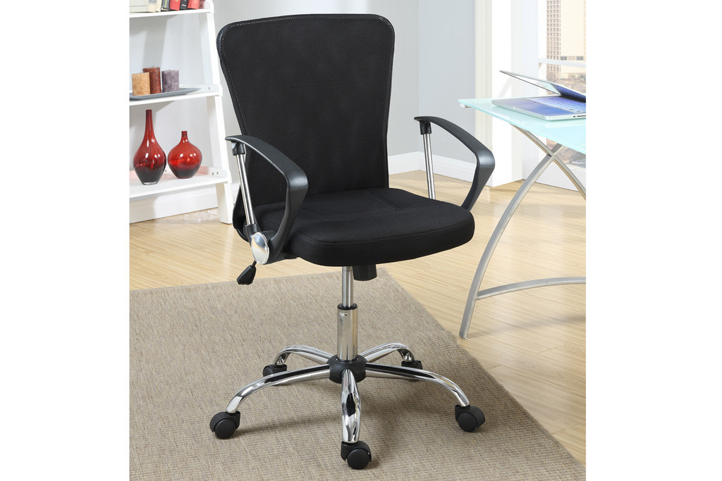 OFFICE CHAIRS MANAGER BLACK