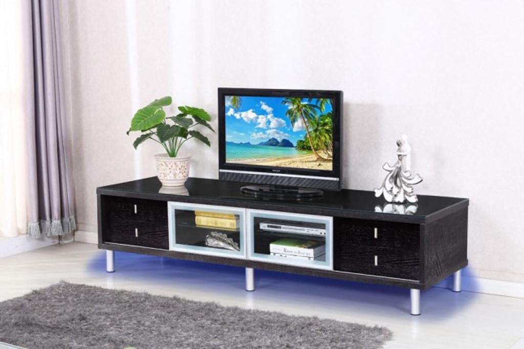 TV Stand - BLACK - GLOSSY