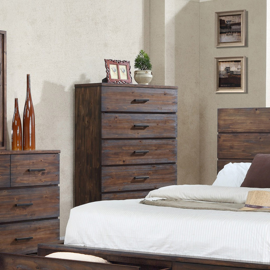 CRANSTON CHEST OF DRAWERS-5-B8200-4CH