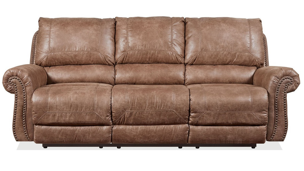 3PC Ashley Motion Sofa Set (Brown) - 741