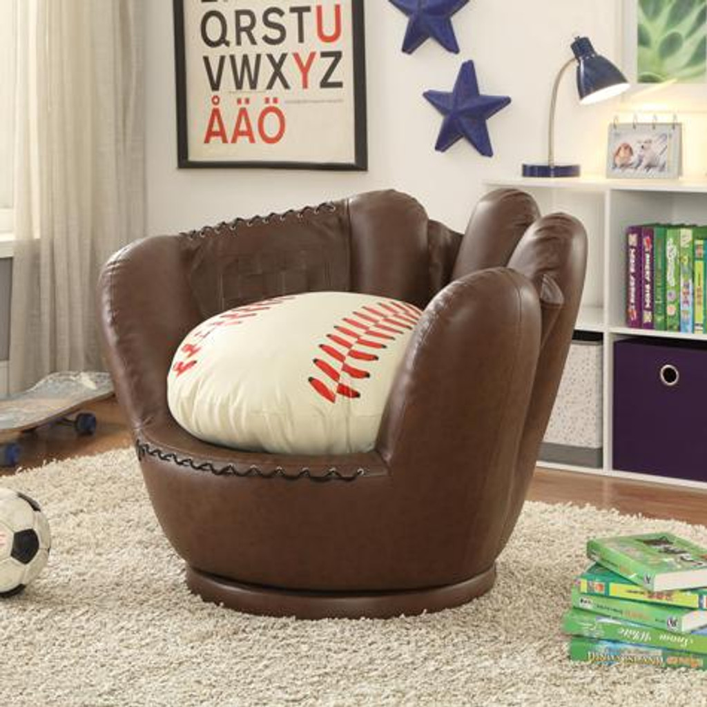 BASEBALL GLOVE CHAIR - 7006