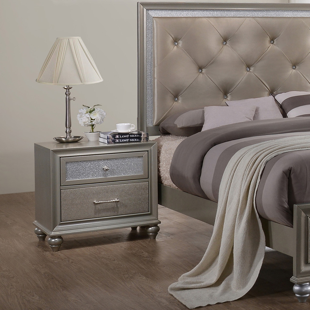LILA NIGHT STAND-B4390/2