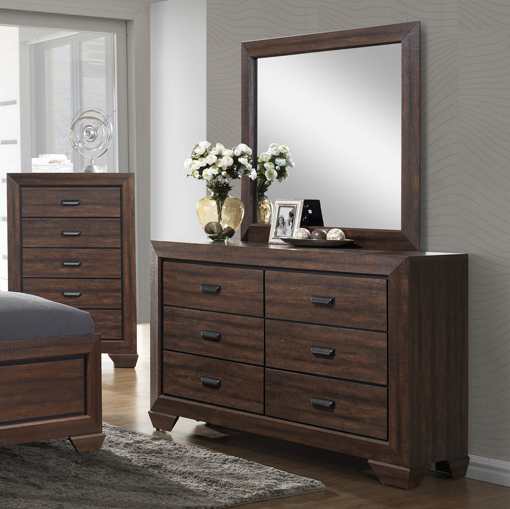 FARROW DRESSER - CHOCOLATE -B5510/1