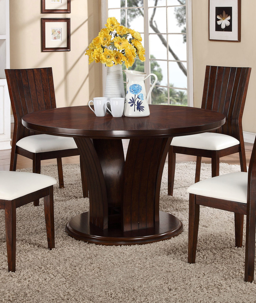"DARIA 54"" ROUND DINING TABLE-2234T/54"