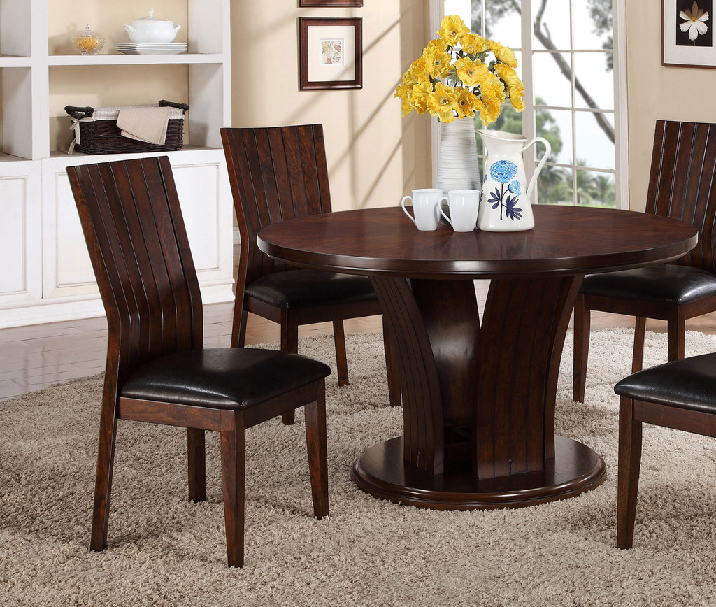 DARIA SIDE CHAIR ESPRESSO 2 PCS SET-2234S/ESP