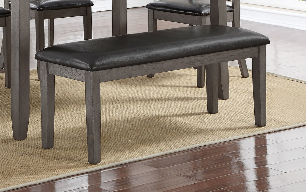COSGROVE BENCH GREY-2361/BENCH/GY