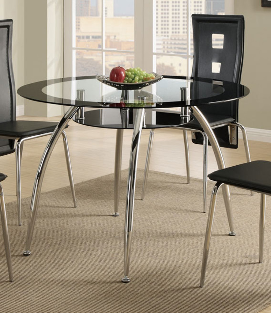 CONTEMPORARY STYLE DINING TABLE-F2211