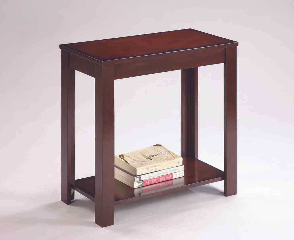 PIERCE CHAIRSIDE TABLE BROWN-7710