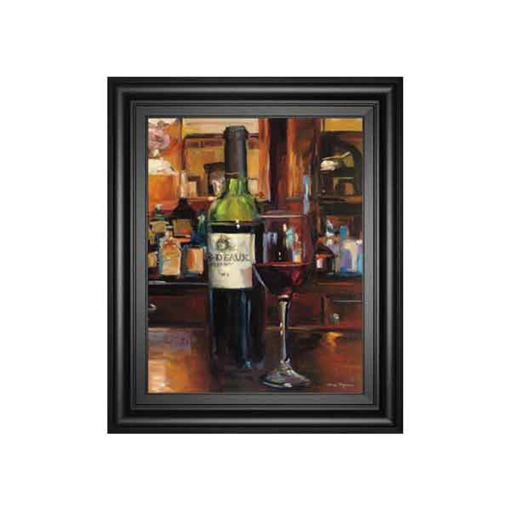 A REFLECTION OF WINE III BY MARILYN HAGMEMAN 22x26