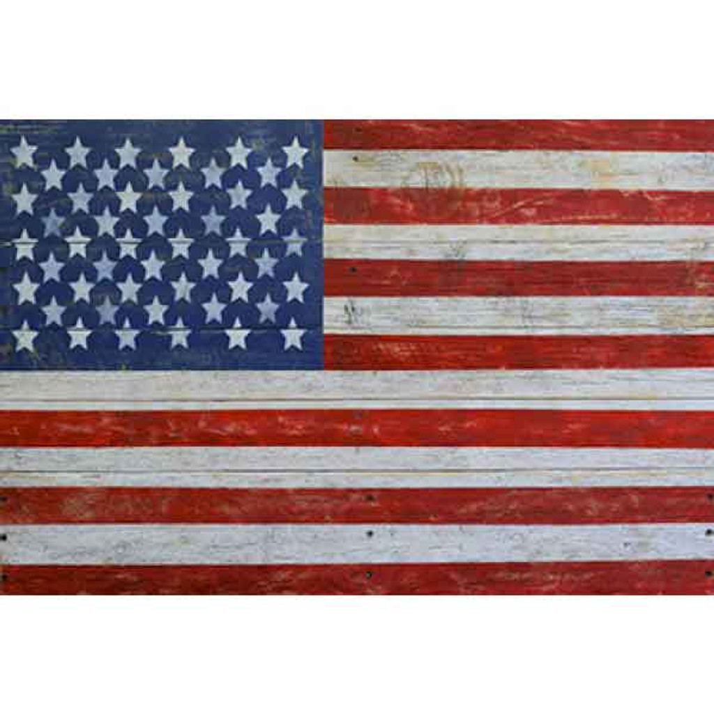 AMERICAN FLAG BY BRANDI FITZGERALD 40x60