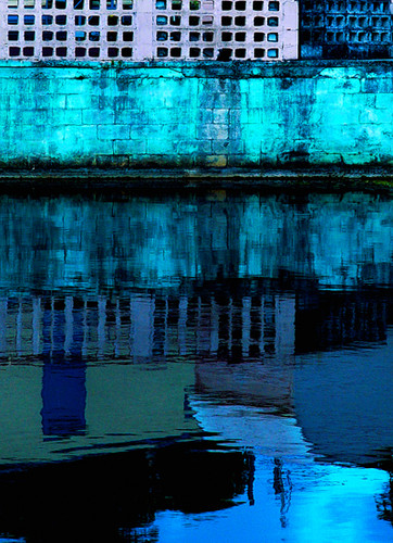 20006 Reflection Wall Art 816226028724 Art Modern If you're drawn to urban canals, you'll love the gleaming water beneath the abstract concrete jungle in the Reflection Wall Art. Deep blues and grays are given life by glimmering river. On hand-finished canvas, it's a lovely piece for an office or a bedroom.  Wall Art by  Zuo Modern Kassa Mall Houston, Texas Best Design Furniture Store Serving Houston, The Woodlands, Katy, Sugar Land, Humble, Spring Branch and Conroe