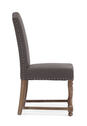 98073 Richmond Chair Charcoal Gray 816226021879 Seating Modern Charcoal Gray Chair by  Zuo Modern Kassa Mall Houston, Texas Best Design Furniture Store Serving Houston, The Woodlands, Katy, Sugar Land, Humble, Spring Branch and Conroe
