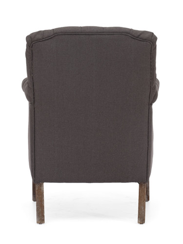 Castro Armchair Charcoal Gray